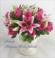 Rangkaian Bunga Cantik Untuk Ucapan Terima Kasih