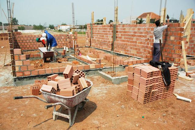Materiais de construção tem queda de 5,9% em agosto