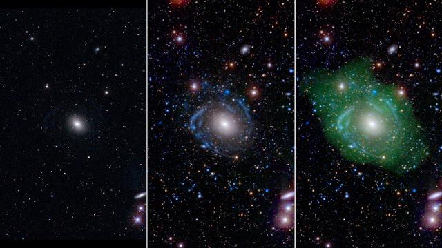 'Frankenstein' galaxy surprises astronomers