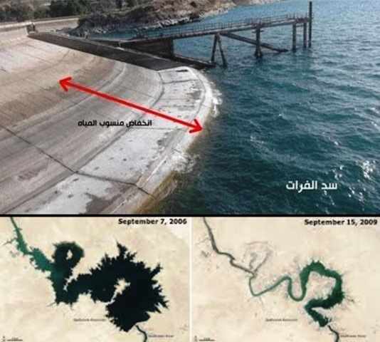 Maklumat Sulit NASA Terbongkar..Temui Satu Tanda Kiamat Di Sungai Eufrat Yang MENGGERUNKAN !!!