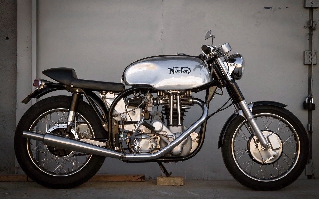 Norton 500 Special Inazuma Caf Racer