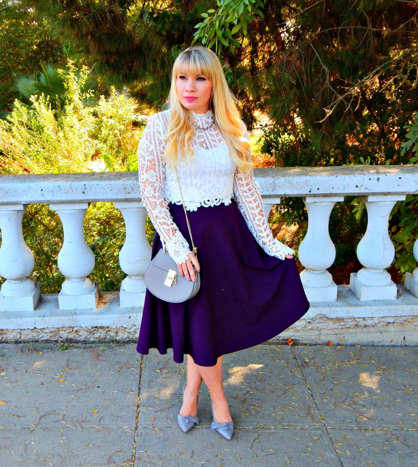 Lace for Fall & Friday Favorites Link Up