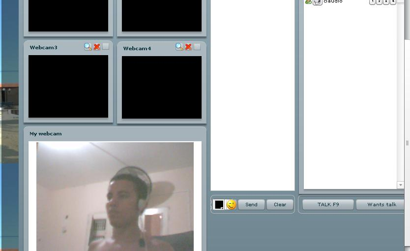 Real webcam chat