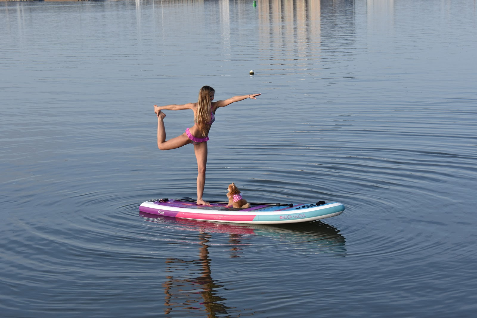My Oasis The Inflatable Paddle Board By Body Glove