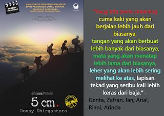 Gambar kata-kata novel dan film 5 cm