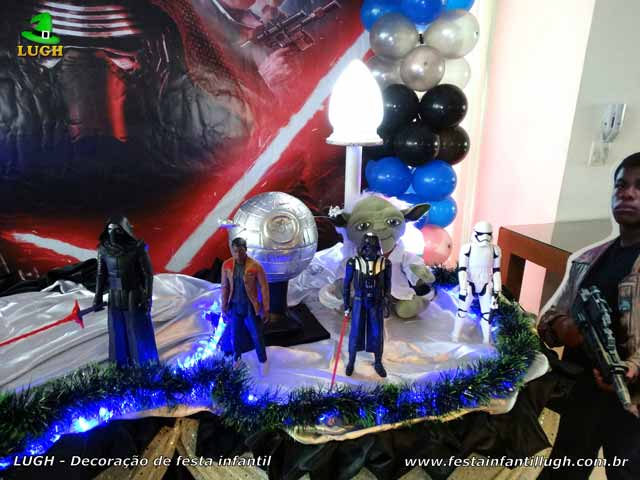 Mesa decorativa Star Wars - Festa infantil