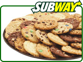 free cookie at subway with any purchase on leap day february 29th report fast food geek. Black Bedroom Furniture Sets. Home Design Ideas