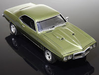 Pontiac Firebird 400 1969 AMT/Erlt 1/25