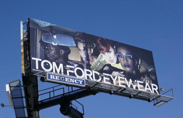 Tom Ford Eyewear Summer 2018 billboard