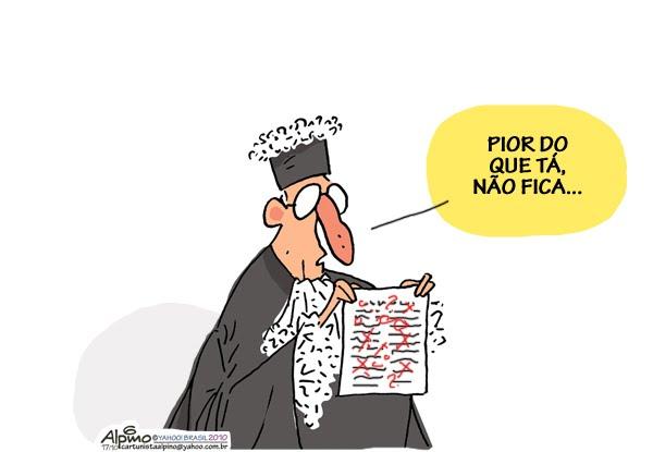 Resultado de imagem para justiça  charges
