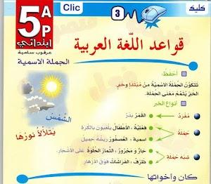 ملخص دروس مادة اللغة العربية لشهادة التعليم الابتدائي 2018