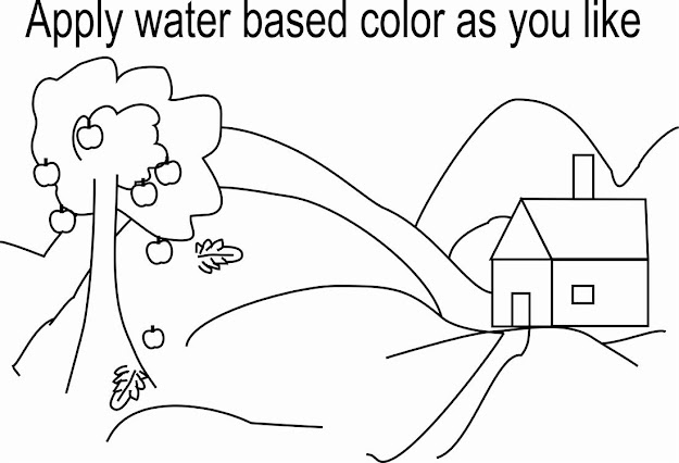 Desert Coloring Pages Deserts Scene And Jungles On