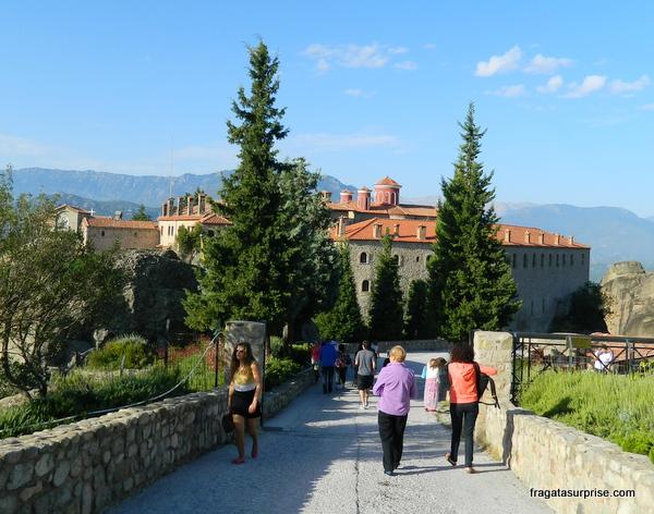 Mosteiro de Agios Stephanous (Santo Estêvão), Meteora