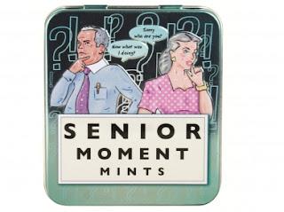 A Senior Moment at 54