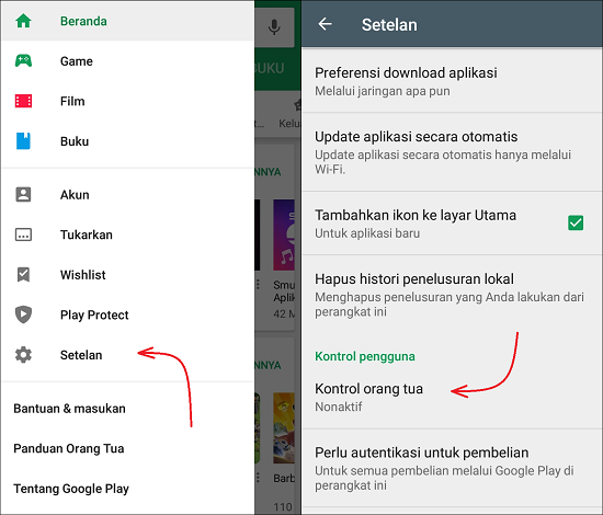 Cara Membatasi Akses Download Aplikasi di Playstore