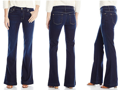7 For All Mankind Slim Trouser Flare Jeans $77 (reg $198)