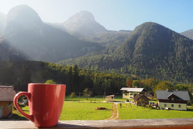 mountain views in Obertraun