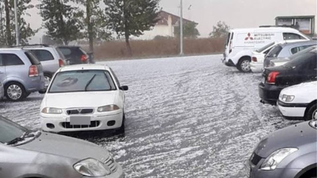 Απίστευτες καταστροφές στην Αρκαδία από το χαλάζι - Έκτακτο Δημοτικό Συμβούλιο ζητάει επικεφαλής δημοτικής παράταξης