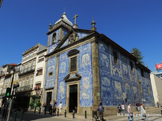 Capilla de las Almas, Oporto, Portugal