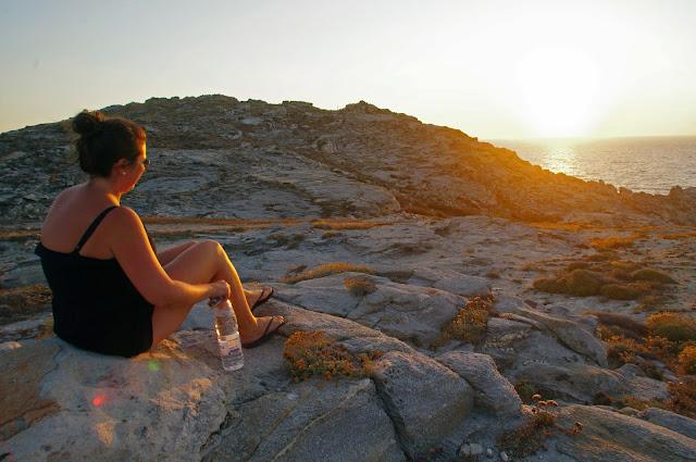 Sunset Paros Island