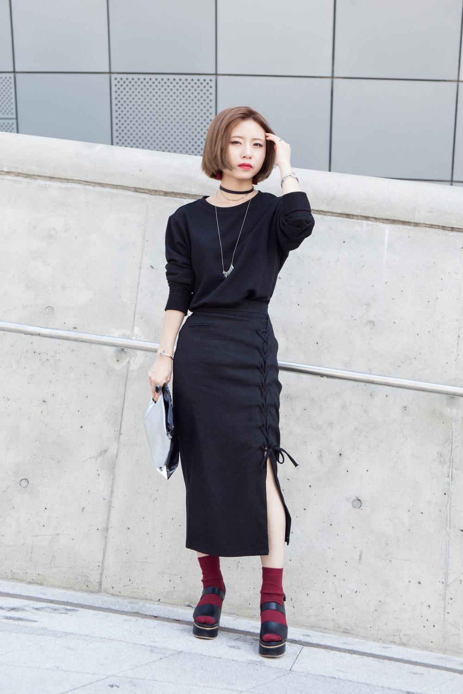 Seoul fashion week 2016 street style miss rich Fashion street style korea