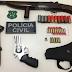 Preso quarteto suspeito de tráfico de drogas, homicídios e roubos em Lagarto