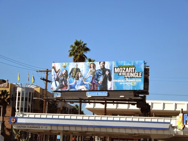 Mozart in the Jungle season 1 billboard