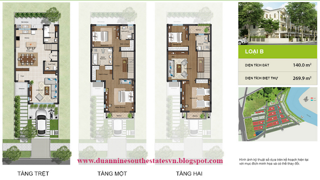 Thiết kế dự án Nine South Estates Nhà Bè VinaCapital cao cấp