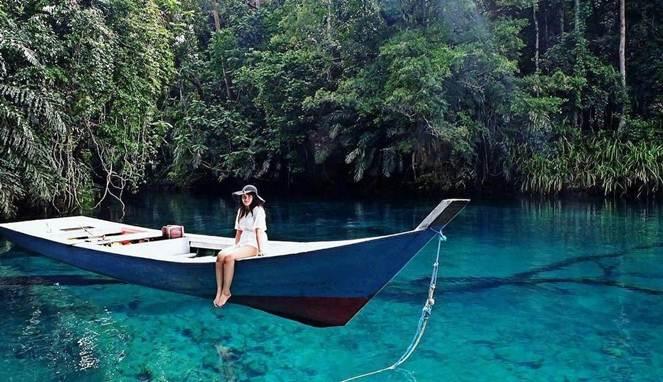 Labuan Cermin, Danau Eksotis dari Kalimantan