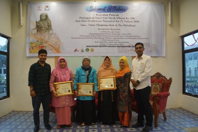 Peringati Haul Cut Nyak Dhien, IPELMABAR Berikan Penghargaan Perempuan Inspiratif Aceh