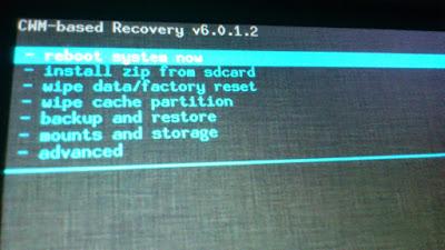 Cara instal CWM pada andromax c3