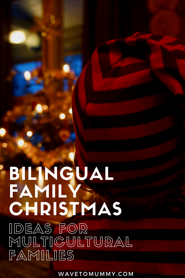 Ideas for a family Christmas in multicultural families! Explaining how we have successfully combined Christmas traditions from both of our cultures in our multi-cultural family.