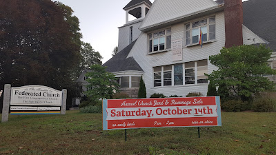 Franklin Federated Church Yard/Rummage Sale - Oct 14
