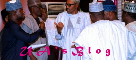 APC Crisis: President Buhari Meets With Three South-West Governors