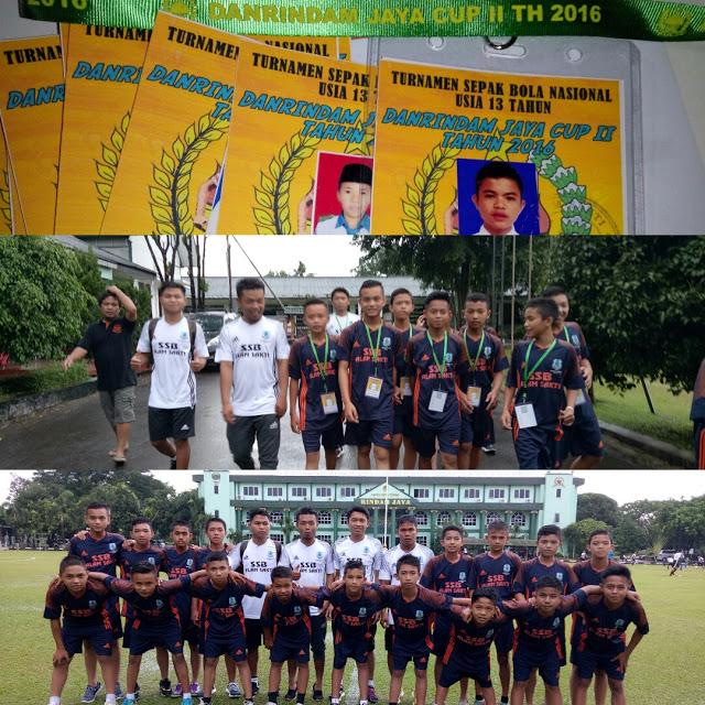 Besok Pagi, SSB Alam Sakti Kerinci Vs KFC Sragen, Penyisihan Piala Danrindam Jaya U-13 di Jakarta