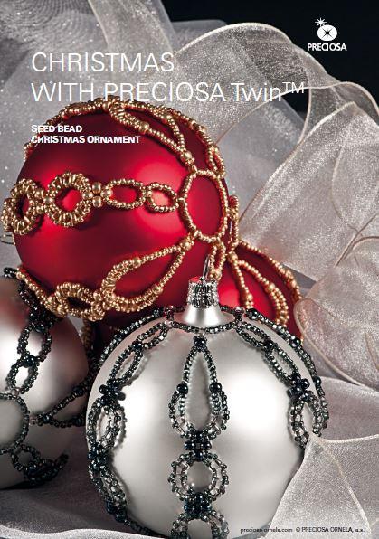 Beaded Christmas Ornaments Patterns.Beautiful Beaded Christmas Ornament Tutorial The Beading