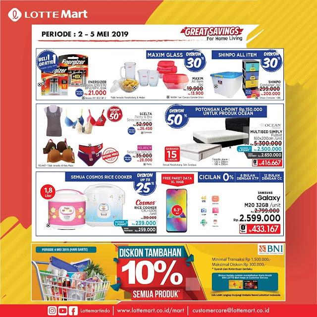 #LotteMart - #Promo #Katalog Weekend Periode 02 - 05 Mei 2019