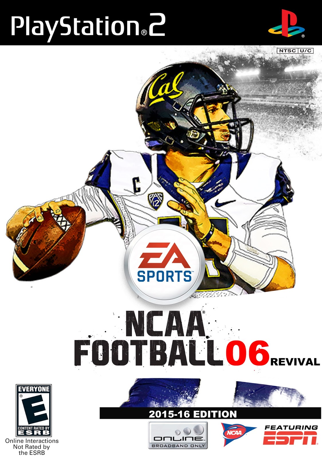 Ncaa Football 06 Revival Ps2 Cover Antdroid