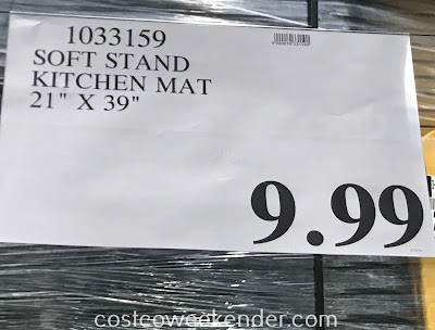 Deal for the Apache Mills ComfortChef Soft Stand Kitchen Mat at Costco