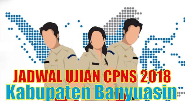 Pengumuman Jadwal Ujian SKD CPNS 2019 2020 Kabupaten Banyuasin PDF
