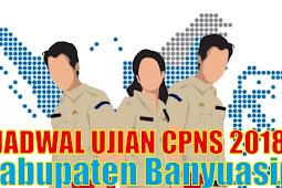 Pengumuman Jadwal Ujian SKD CPNS 2018 Kabupaten Banyuasin PDF