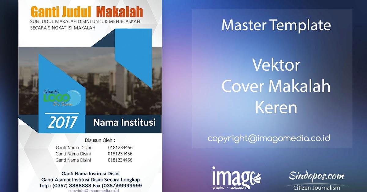 Download Gratis 1 100 Template Sampul Cover Laporan Computer 1001