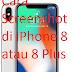 Cara Screenshot di iPhone 8 atau 8 Plus untuk mendapat tangkap layar di iPhone 8
