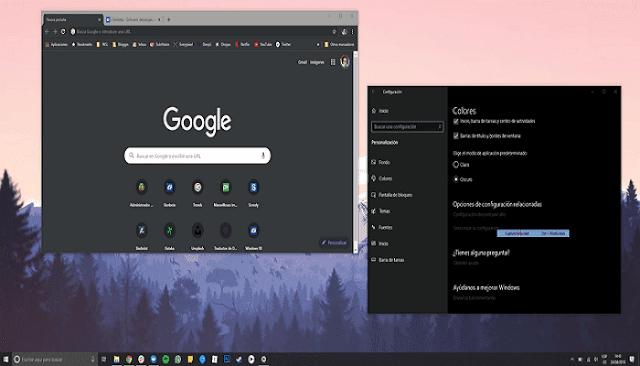 بشكل رسمي ، طريقة تفعيل الوضع المظلم الجديد في غوغل كروم لنظام التشغيل الويندوز