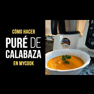 Puré de Calabaza con MyCook