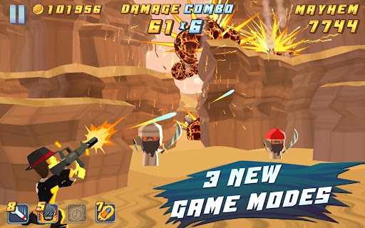 Game Kategori Action/Shooter: Major Mayhem
