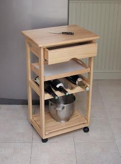 Contoh Terdekat Adalah Troli Dapur Bekvam Daripada Ikea