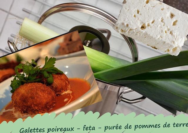 croquettes de légumes de saison : poireaux, pommes de terre, fromage de brebis, végétarien, sans gluten