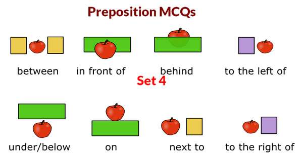 English Preposition MCQs With Answers Set 4