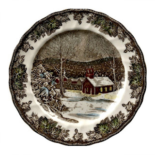 Friendly Village Plates from Johnson Brothers